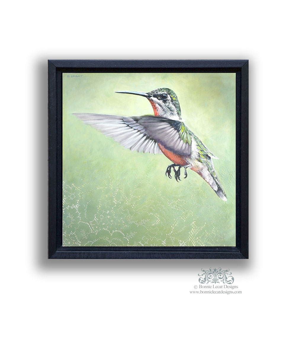 flying-hummingbird-art-print-bonnielecat-onwhite