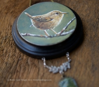 wren-mixed-media-bird-wall-art_bonnielecat_forwweb