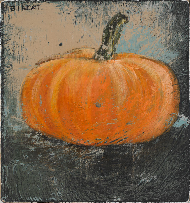 Tiny pumpkin painting