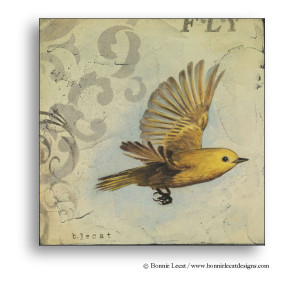Yellow Bird Print