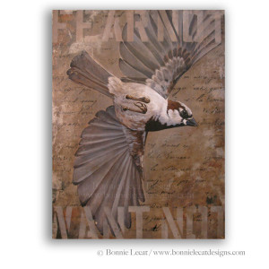 """Fear Not, Want Not"" fine art giclee print on gallery wrapped canvas"