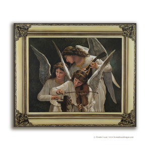 Bougereau reproduction mural painting