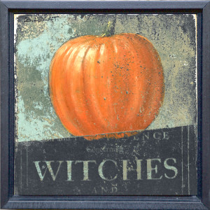 Framed Halloween Wall Decor