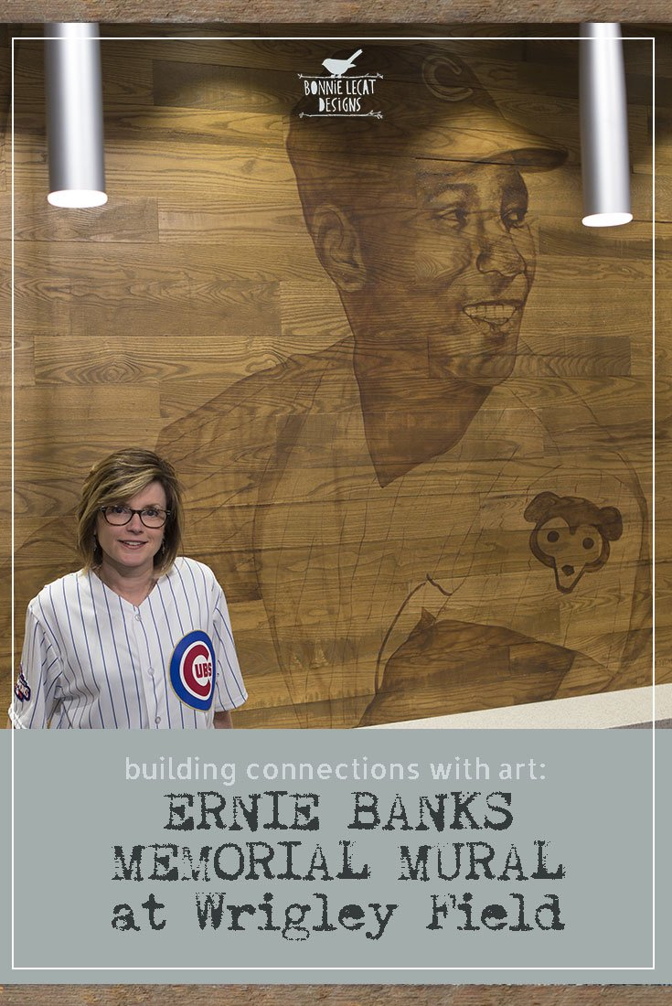 ERNIE BANKS MEMORIAL MURAL