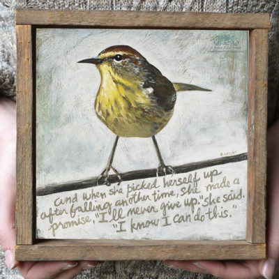 pin-inspirational-art-confidence-bird-bonnie-lecat