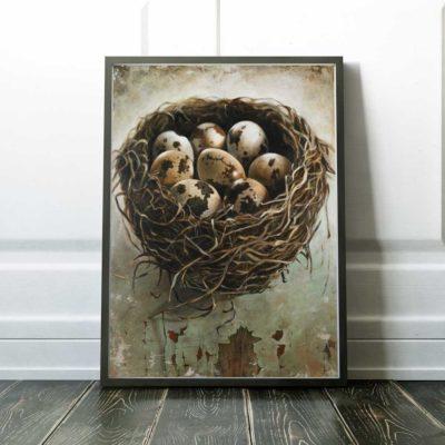 bird-nest-art-print-tangled