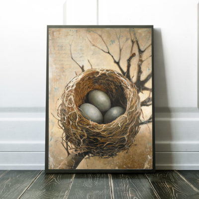 bird-nest-art-framed-canvas-30x40