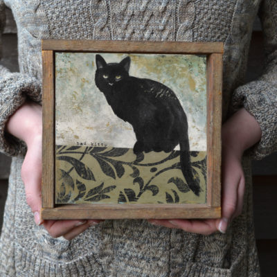 BLACK-CAT-framed-bonnie-lecat