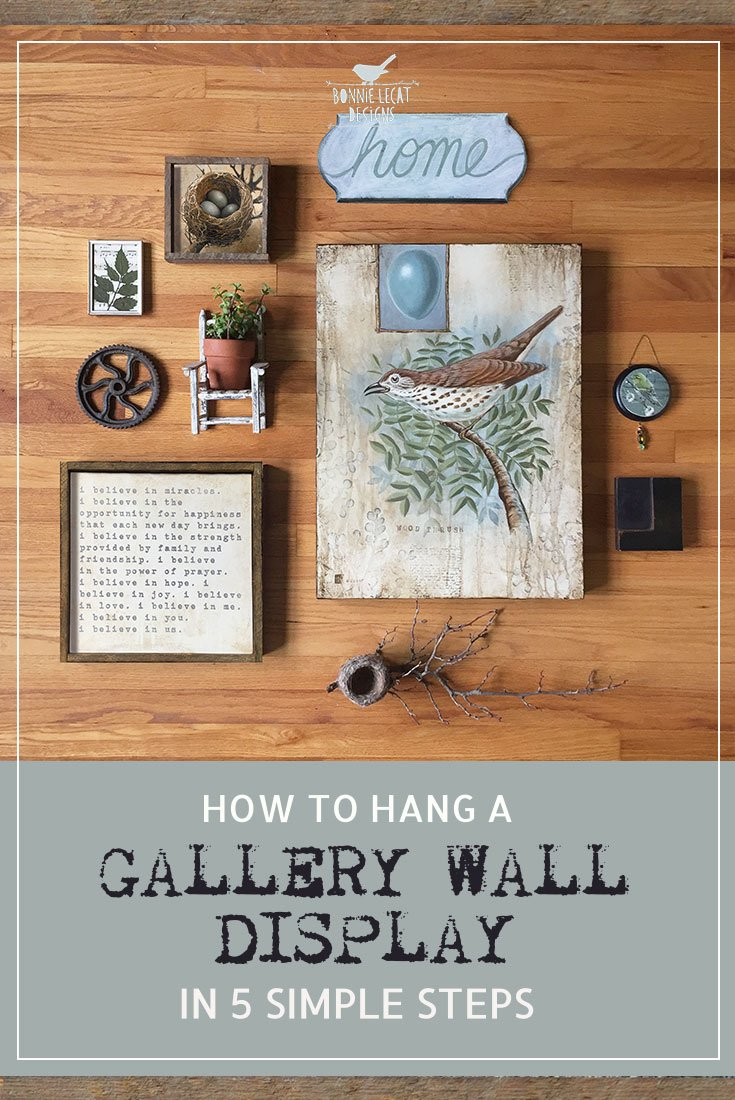 How to hang a gallery wall display in 5 simple steps