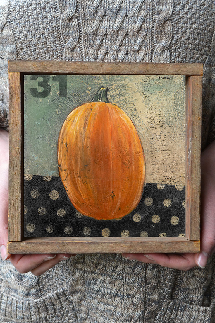 pinnable-halloween-art-print | artwork, prints, home decor, gift ideas