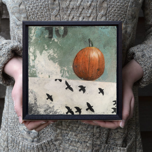 ten-birds-framed-halloween-art-bonnielecat