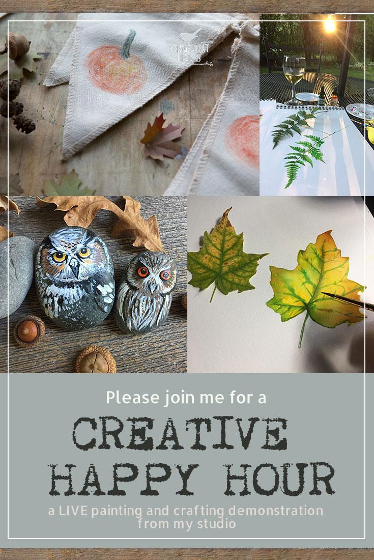 live-art-craft-tutorials