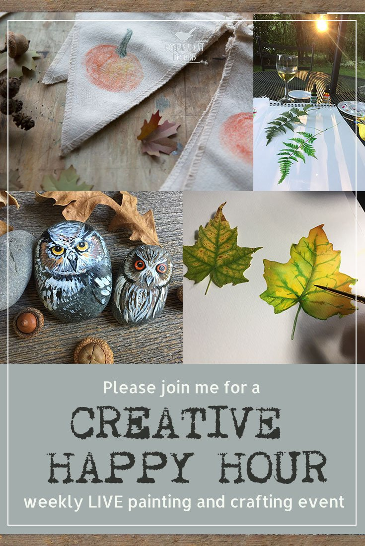 kick off the weekend with some relaxation, creativity, and fun with the Creative Happy Hour.