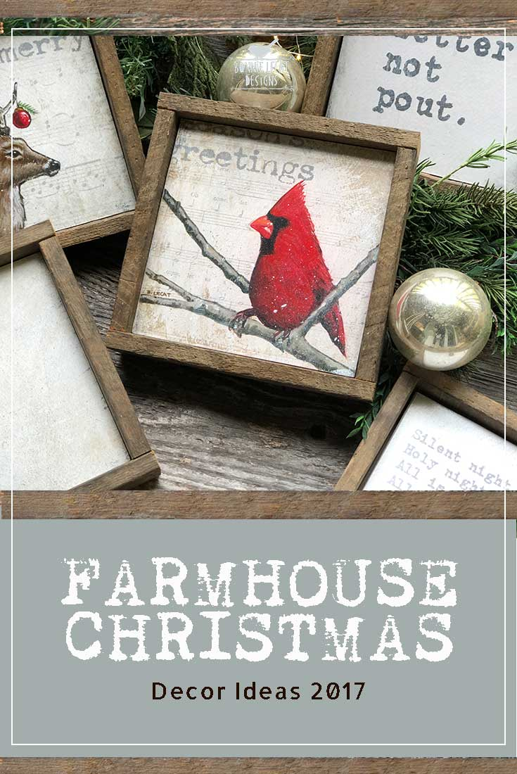 Farmhouse Christmas Decor Ideas 2017