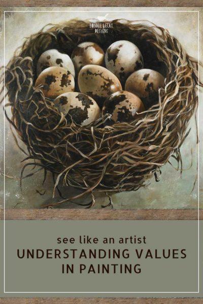 tangled nest art print