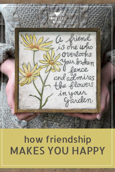 friendship quote gift