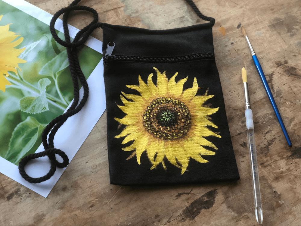 sunflowers-bag