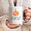 Celebrate your love for pumpkin spice with this cute 11 oz ceramic mug from Bonnie Lecat Designs - Makes a great gift idea!