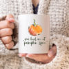 You Had Me at Pumpkin Spice fall coffee mug