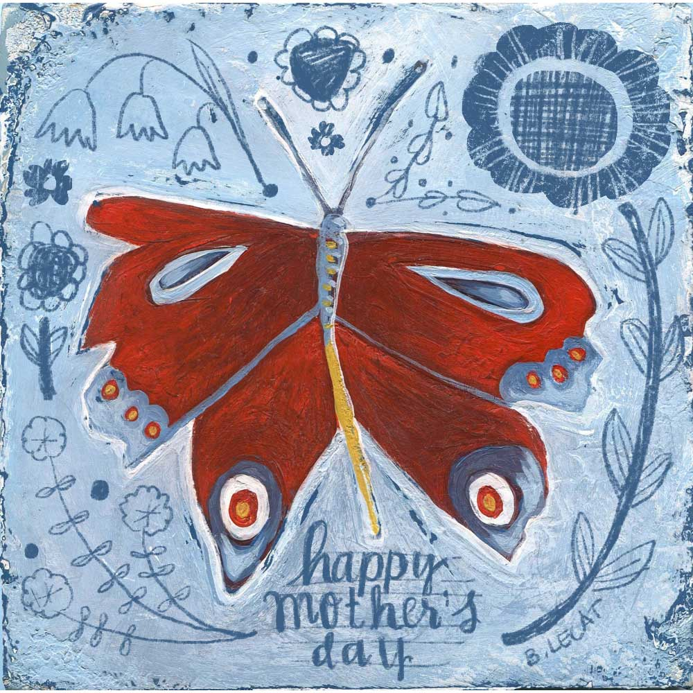 Butterfly illustration by Bonnie Lecat