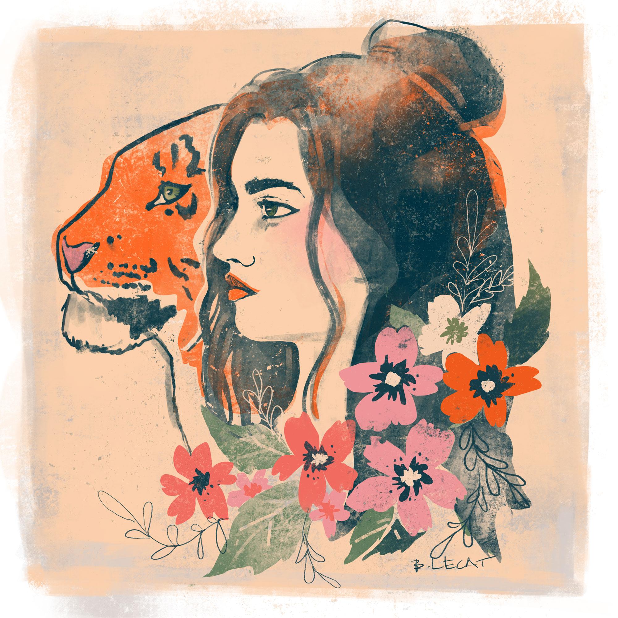 """Hear Me Roar"" by Bonnie Lecat"